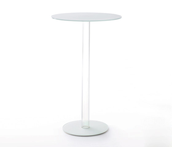 Hub cocktail de Glas Italia | Tables mange-debout