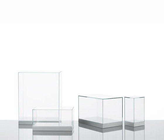 Teche by Glas Italia | Display cabinets