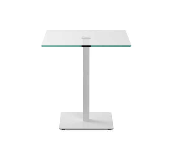 Badá square cristal by Systemtronic | Side tables