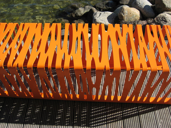 #112 Zebra by out-sider | Garden benches