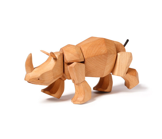 Simus the Wooden Rhinoceros de David Weeks Studio | Juguetes para niños