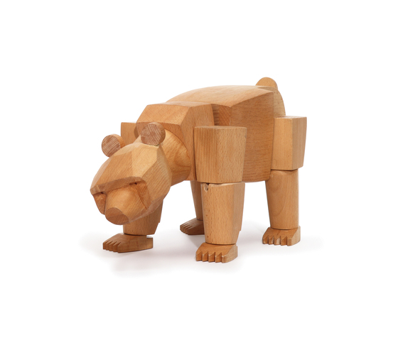 Ursa the Wooden Bear di David Weeks Studio | Giocattoli per bambini