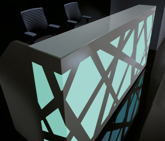 Zig-Zag by MDD | Reception desks