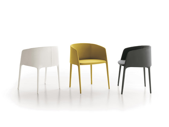 Achille armchair by MDF Italia | Visitors chairs / Side chairs