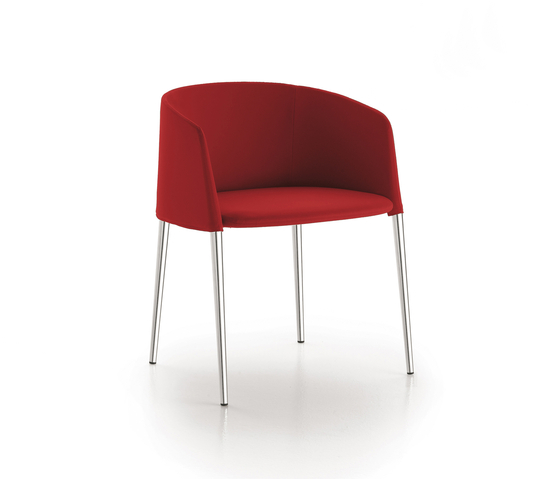 Achille armchair* by MDF Italia | Visitors chairs / Side chairs