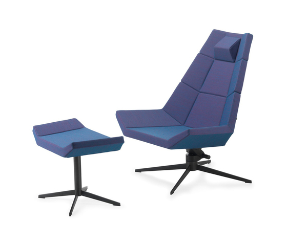 Pause Recliner with Footrest von Variér Furniture | Loungesessel