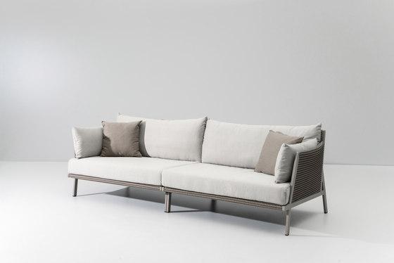 Vieques 3 seater sofa de KETTAL | Sofás de jardín