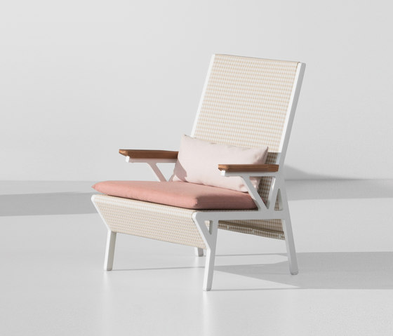 Vieques club armchair by KETTAL | Garden armchairs