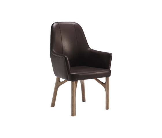 Arpeggio 6106 Chair de F.LLi BOFFI | Chaises de restaurant