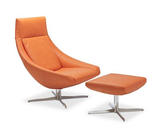 Ovni by Jori | Lounge chair | Pouf | Lounge chair I Pouf