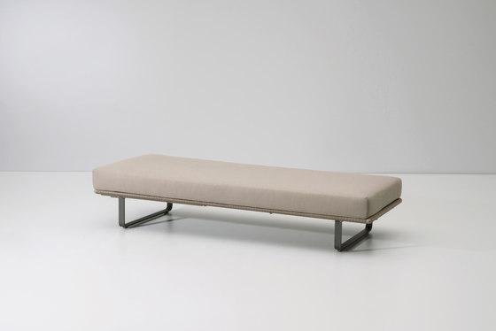 Bitta deckchair/ stool module von KETTAL | Gartenbänke