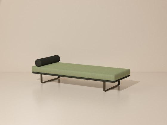 Bitta deckchair/ stool module de KETTAL | Bancos