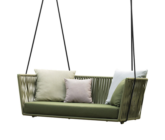 Bitta swing rope set de KETTAL | Balancelles de jardin