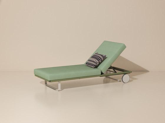 Bitta deckchair module by KETTAL | Sun loungers