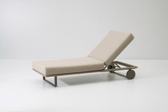 Bitta deckchair module di KETTAL | Sdraio da giardino