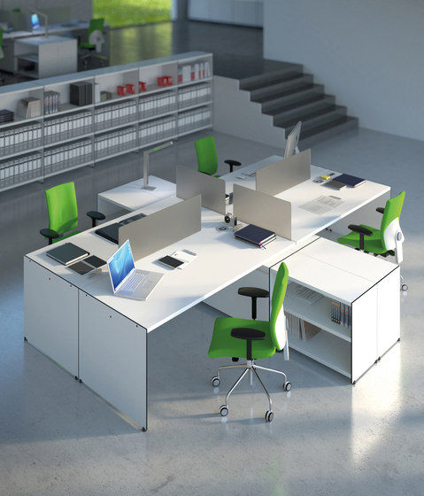 Aspen work area by AG Land | Desking systems