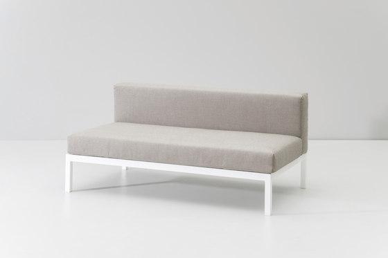 Landscape central module by KETTAL | Garden sofas
