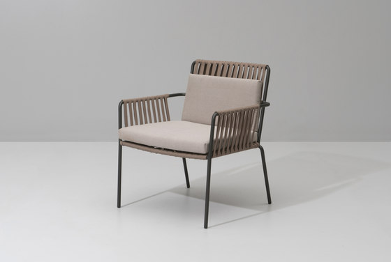 Net club armchair by KETTAL | Garden armchairs