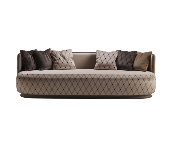 Kir Royal 6101 Sofa by F.LLi BOFFI | Lounge sofas