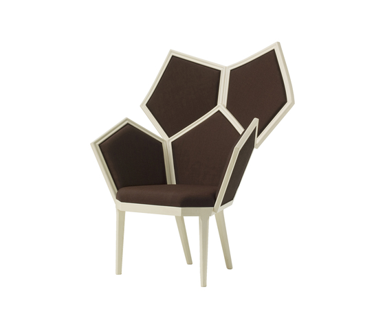 Lui 5 5610/I Armchair by F.LLi BOFFI | Lounge chairs