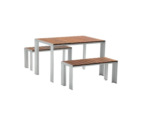 Deneb Teka table & bank de STUA | Bancs de jardin