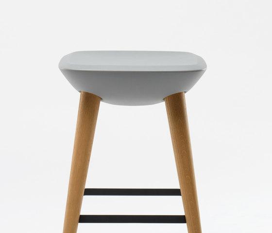 Pebble Barstool by De Vorm | Bar stools