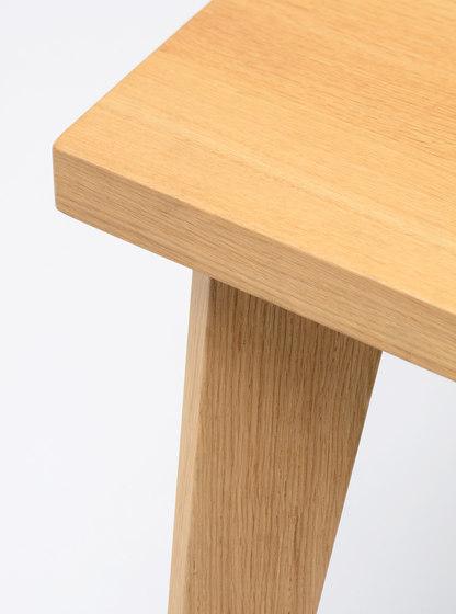 Wood Me Table de De Vorm | Tables de restaurant