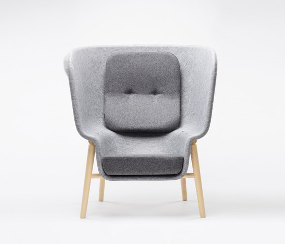 Pod Privacy Chair de De Vorm | Fauteuils d'attente