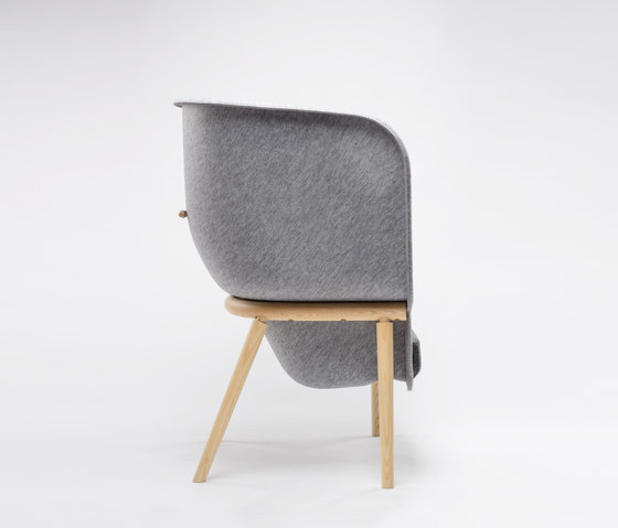 Pod Privacy Chair by De Vorm | Lounge chairs