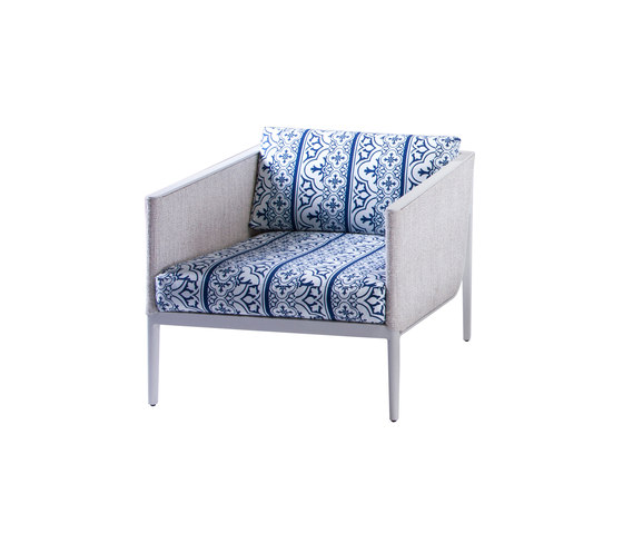Martina Lounge chair von steve & james | Gartensessel