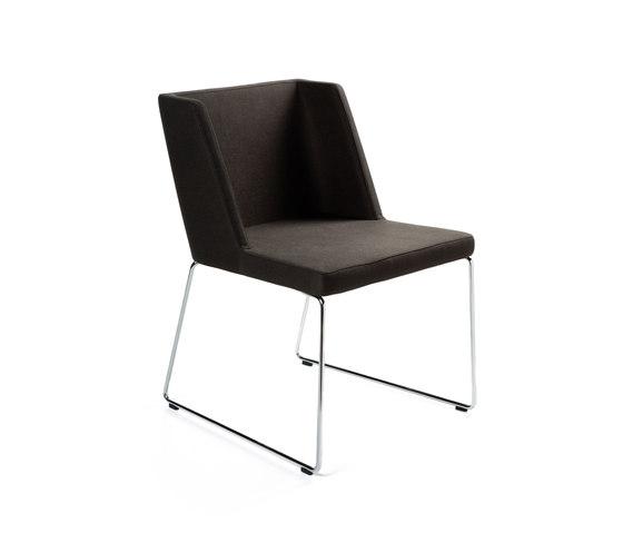 Easy von B&T Design | Besucherstühle