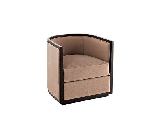 Waldorf 4602 Armchair by F.LLi BOFFI | Lounge chairs
