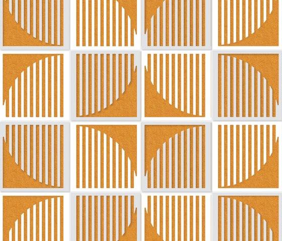 Flux F Design honig von Friends of Wilson | Wanddekoration