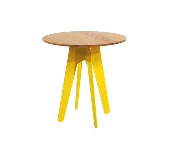 The Burgess Compact Table by Assemblyroom | Side tables