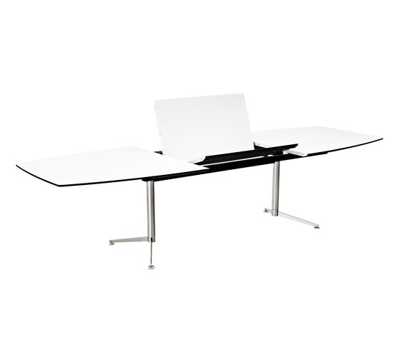 Spinal Table boatshape with extention de Paustian | Mesas comedor
