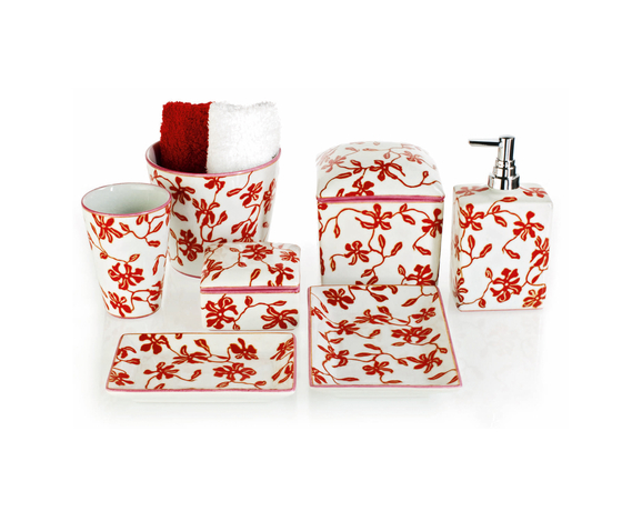 VOGUE floral by DECOR WALTHER | Soap dispensers