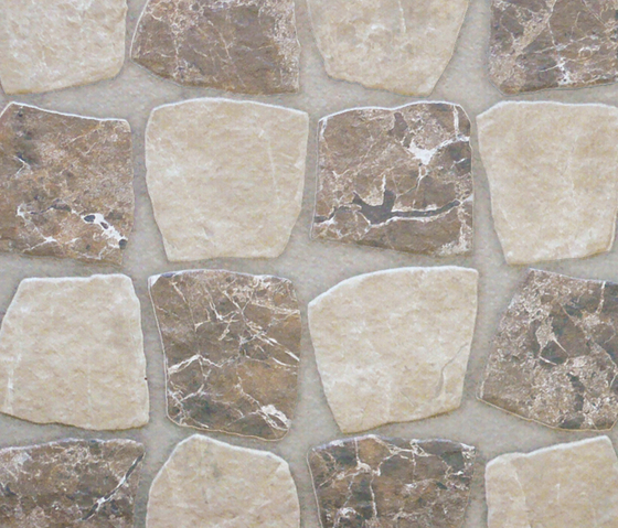 Marmol emperador-marron beige mix by Oset | Tiles