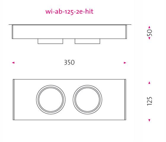 wi ab 125 2e de Mawa Design | Spots de plafond