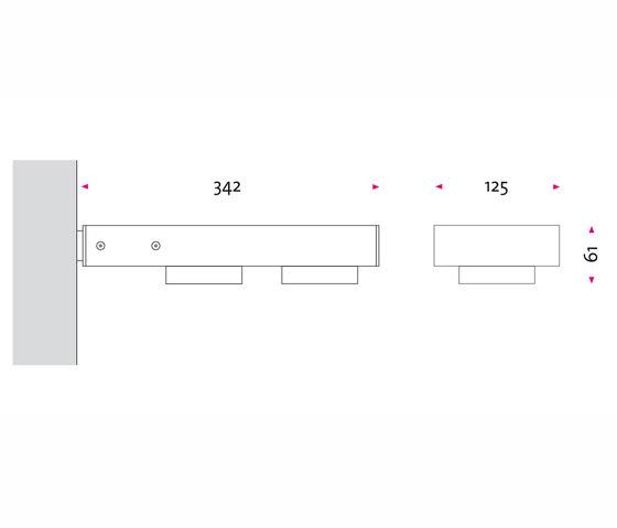 wi 2sab von Mawa Design | Wandstrahler