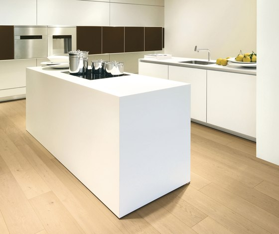 bulthaup b3 monoblock in laminate by bulthaup | Fitted kitchens