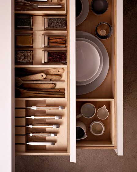 b1 interior organization system de bulthaup | Kitchen organization