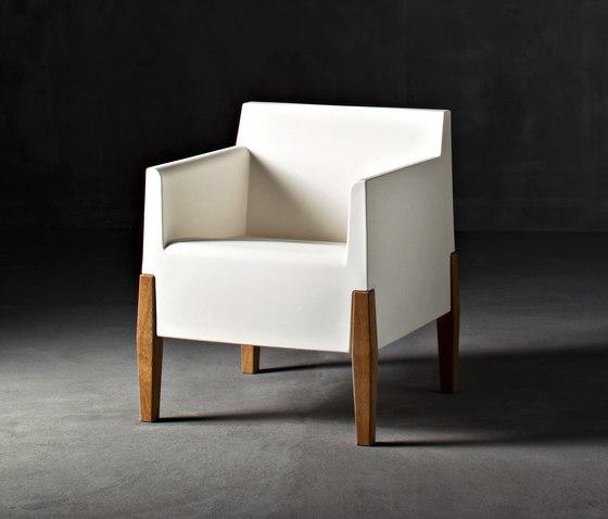 Kubrick by Serralunga | Garden armchairs