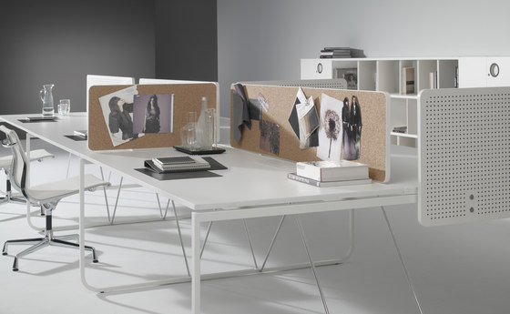 K2 I K3 Workstation with screens by ARIDI | Table dividers
