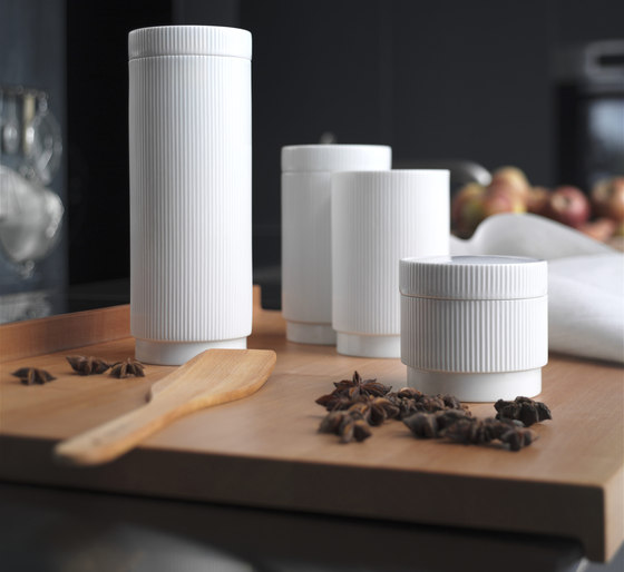 Storage jars by bulthaup | Kitchen accessories