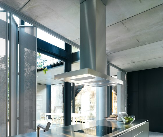 Extractor with stainless steel flat panel by bulthaup | Extractors