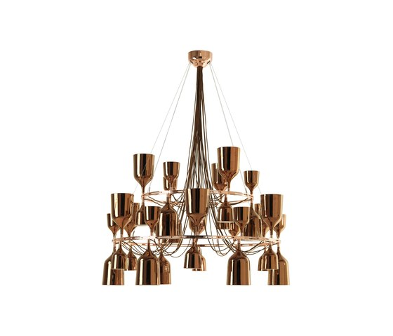 Copacabana Queen me Suspension lamp by Metalarte | General lighting