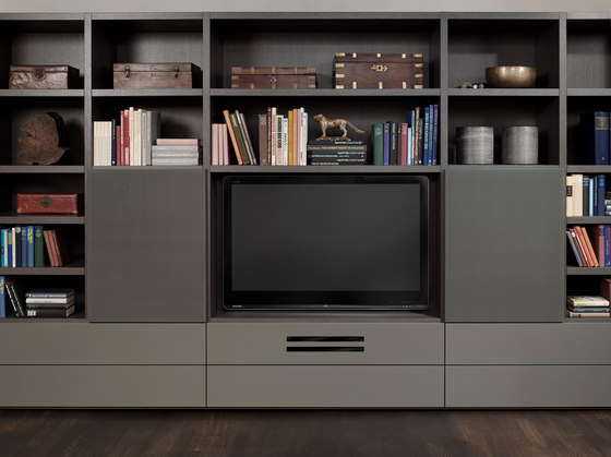 LOG Audio Moderne by Neue Wiener Werkstätte | Multimedia cabinets