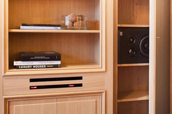 LOG Audio Klassik by Neue Wiener Werkstätte | AV cabinets