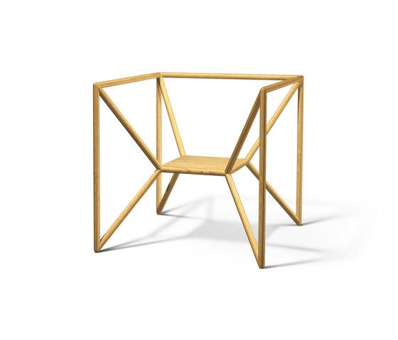 M3 Chair di Neue Wiener Werkstätte | Poltrone