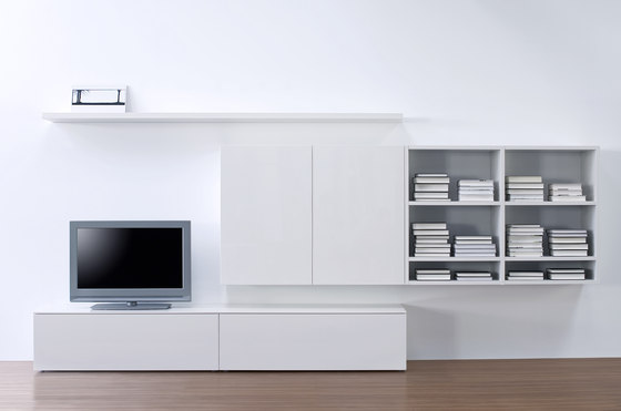 Cubo Plus by Sudbrock | Wall storage systems